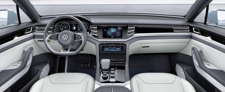 12 января на автосалоне в Детройте пройдет премьера Volkswagen Cross Coupe GTE