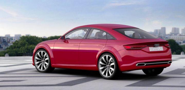 Audi представила в Париже спортивный седан TT Sportback