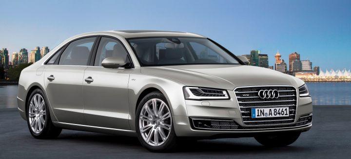 Audi представила в Великобритании спортивную версию A8