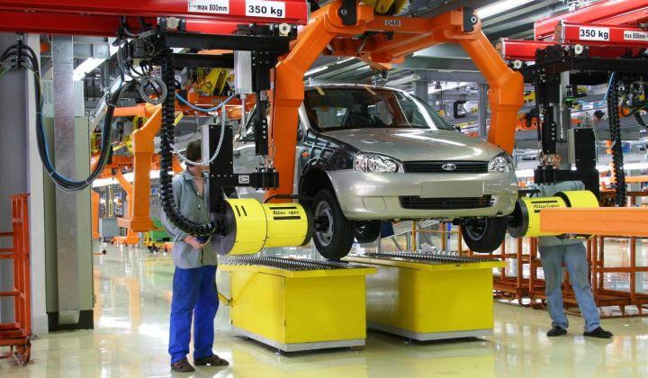 «АвтоВАЗ» на 38% увеличил объем продаж в сентябре