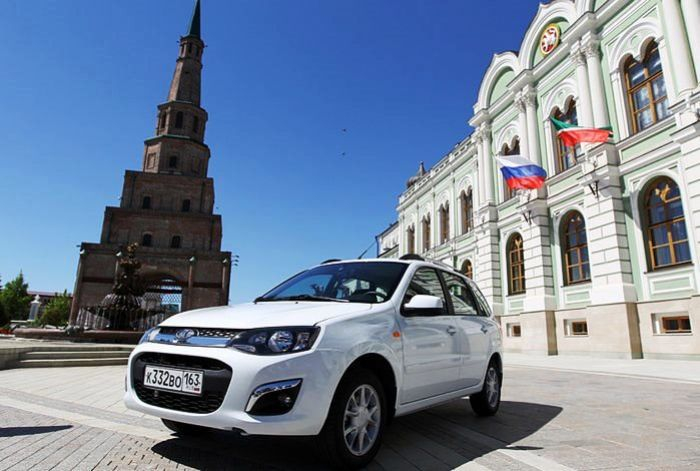 Более 1 млн автомобилей Lada Kalina выпустил «АвтоВАЗ» за 10 лет