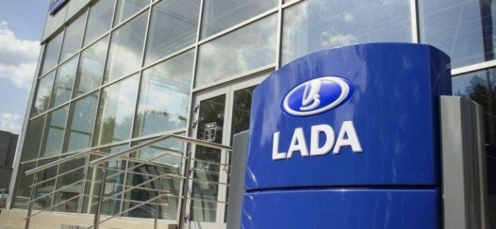 Дилерские центры Lada перекрасят в серо-оранжевый цвет