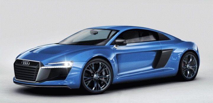 Фото Audi R8 с новым дизайном появились в Интернете