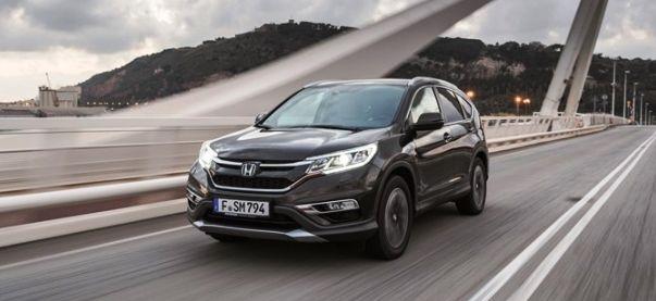Honda CR-V нового поколения будет стоить от 1,299 млн рублей