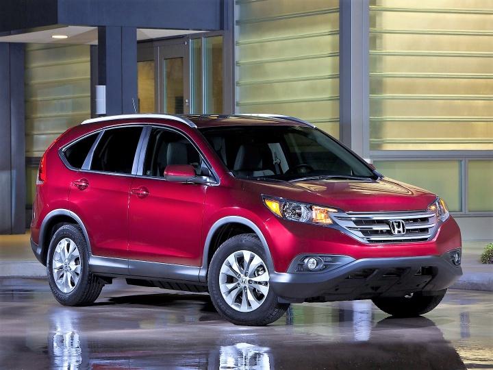 Honda CR-V возглавил рейтинг самых популярных в мире компактных внедорожников