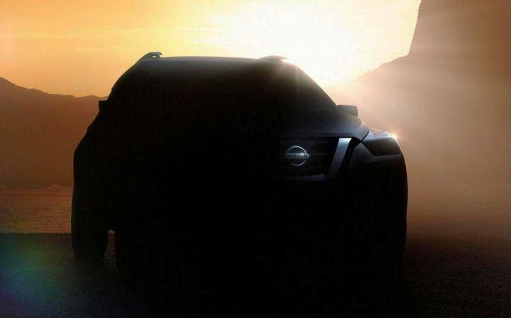 Изображение нового кроссовера Nissan показали в интернете