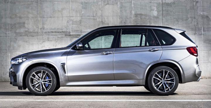 Компания BMW показала новые кроссоверы X5 M и X6 M