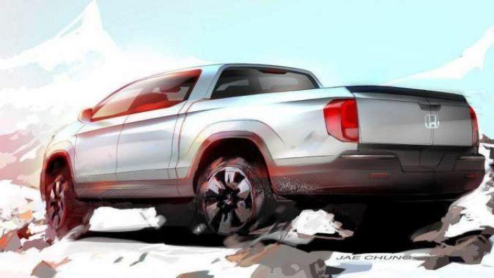 Компания Honda «засветила» тизер нового пикапа