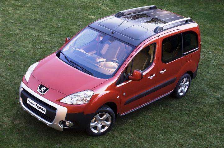 Компания Peugeot обновила Partner и Partner Tepee