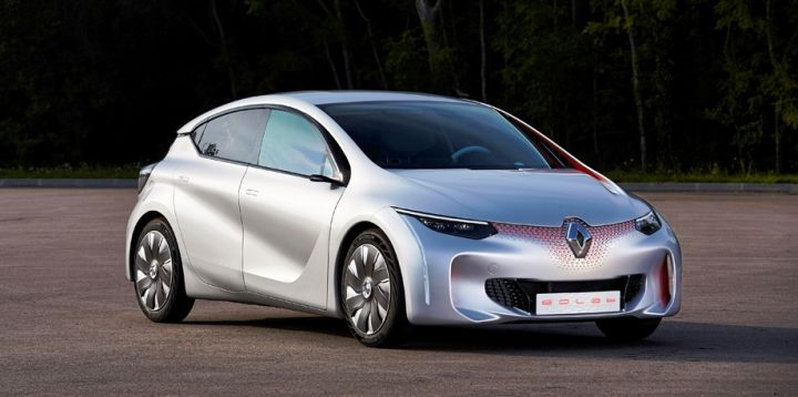 Компания Renault представила в Париже кроссовер Espace и концепт Eolab