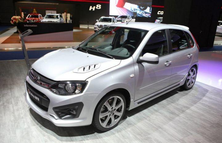 Lada Kalina NFR будет стоить 646 тысяч рублей