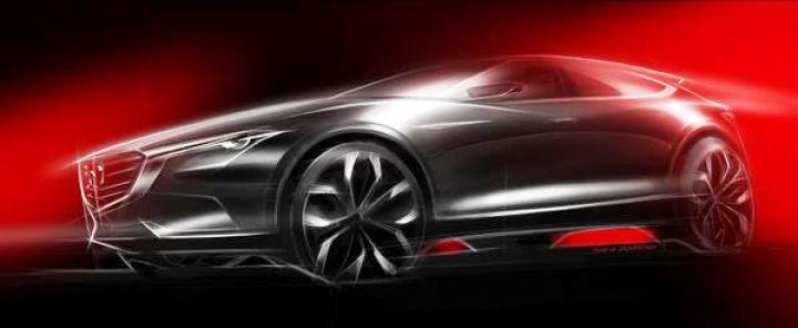 Mazda показала эскиз нового паркетника