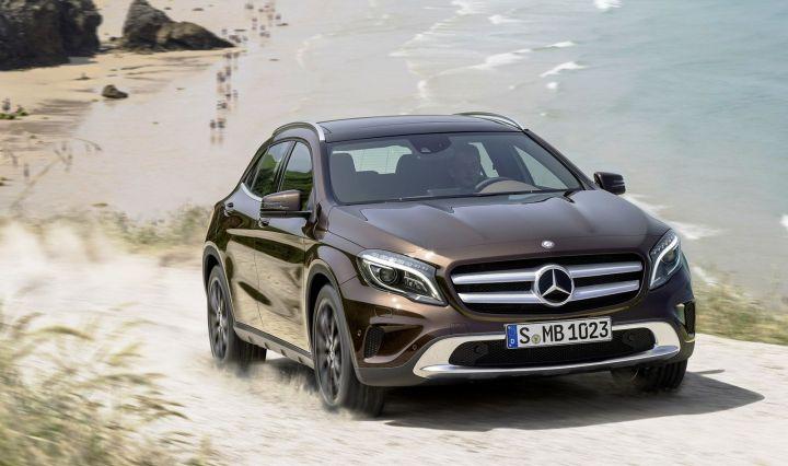 Mercedes-Benz даст новые имена своим внедорожникам