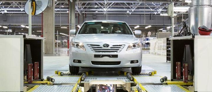 На заводе Toyota в Санкт-Петербурге запустили выпуск Camry в 9 модификациях