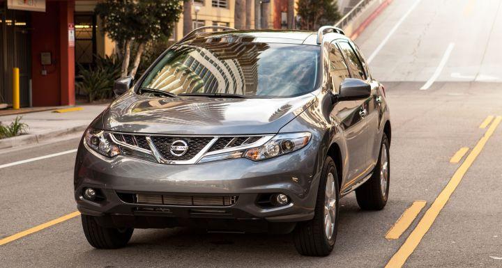 Nissan отзывает 10 тысяч внедорожников Murano