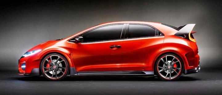 Новый Honda Civic Type R за38 000 евро выйдет в 2015 году