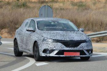 Новый Renault Megane станет более роскошным и спортивным