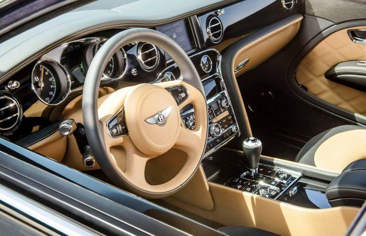 Новый шикарный седан Bentley презентовали во Франции