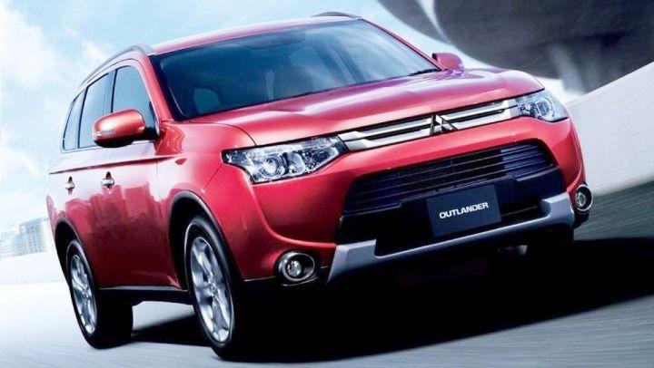 Обновленный Mitsubishi Outlander выйдет в России в 2015 году
