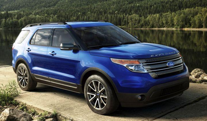Обновленный кроссовер Ford Explorer появится в России в этом году