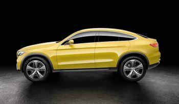 Официально представили Mercedes-Benz GLC Coupe concept