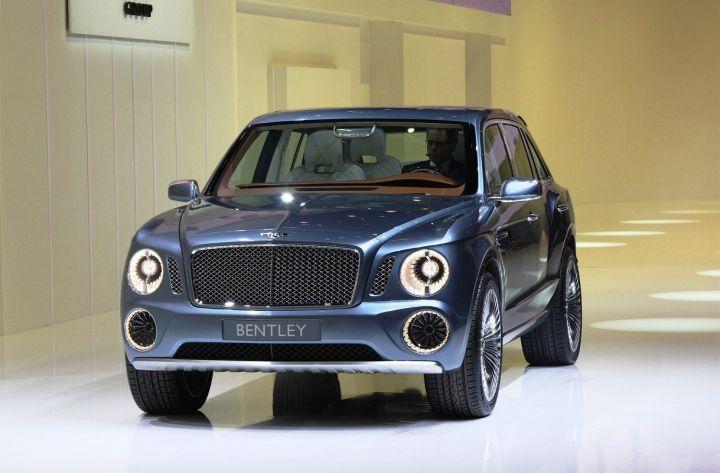 Первый внедорожник Bentley назовут Bentayga