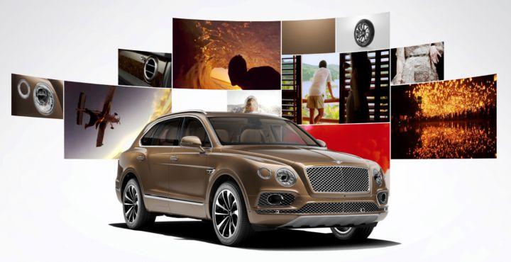 Приложение от Bentley поможет выбрать идеальный автомобиль