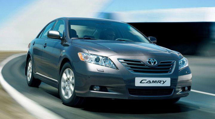 Производство нового Toyota Camry стартует в ноябре