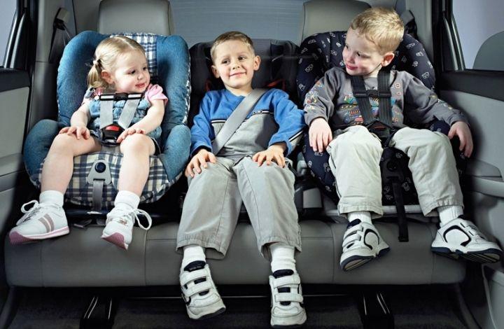 Результаты опроса: 88% родителей используют детские автокресла