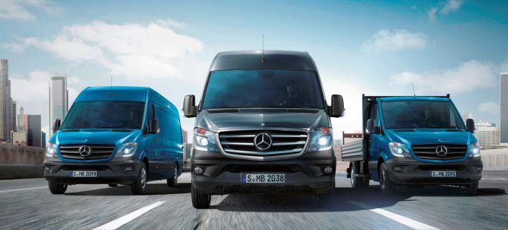 Российский спрос на фургоны Mercedes-Benz выросл более чем в 2 раза