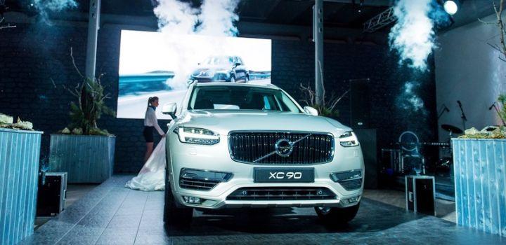 Шведы презентовали в Москве Volvo XC90 нового поколения
