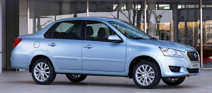 Седан Datsun on-DO подорожал на 20 тысяч рублей