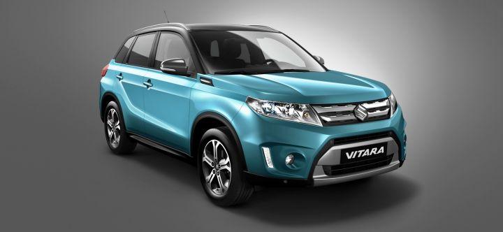 Серийное производство Suzuki Vitara запустят в 2015 году в Венгрии