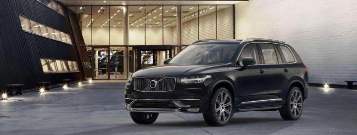 Стала известна рублевая стоимость Volvo XC90