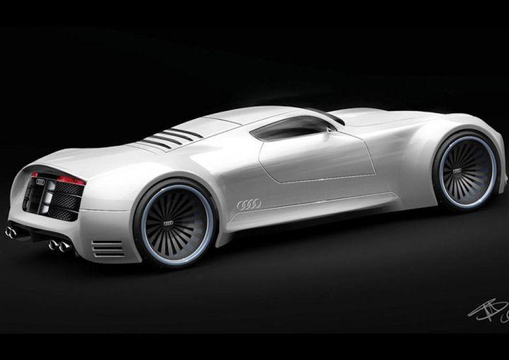 В 2016 году Audi выпустит 1000-сильный гиперкар Audi R10