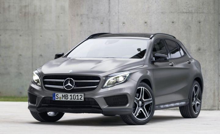 В 2019 году Mercedes-Benz выпустит переднеприводный кроссовер
