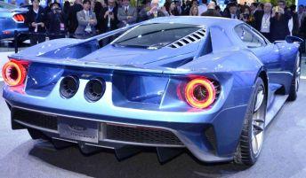 В Детройте бренд Ford показал концепт суперкара GT