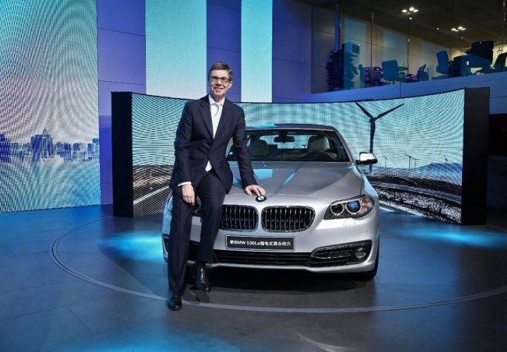 В Гуанчжоу презентовали BMW 530Le для китайского рынка