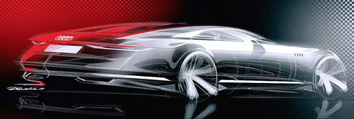 В Интернете появились первые тизеры концепт-кара Audi Prologue