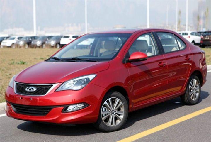 В Китае в ноябре начинаются продажи седана Chery Arizzo 3