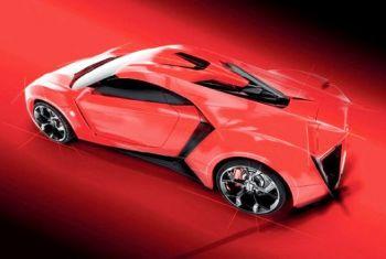 В ОАЭ началась продажа суперкара за 3,4 млн долларов