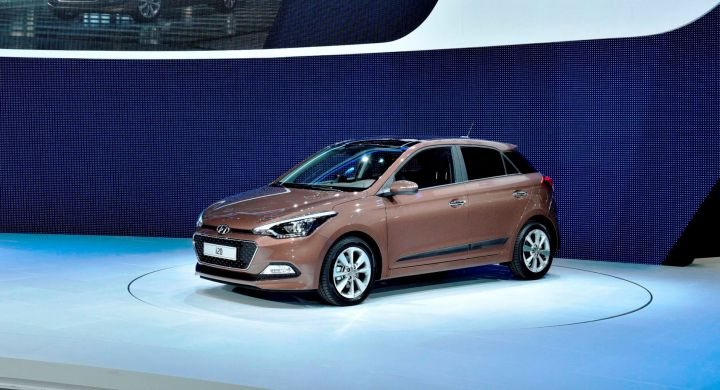 В Париже Hyundai Motor представила i20 с 1-литровым двигателем