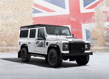 В России прекращена продажа Land Rover Defender