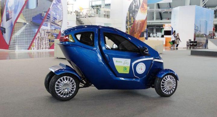 В России запустят производство электромобиля-трансформера Bravo eGo