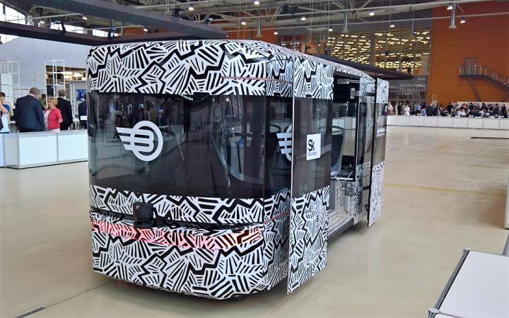 В Сочи покажут беспилотный автобус