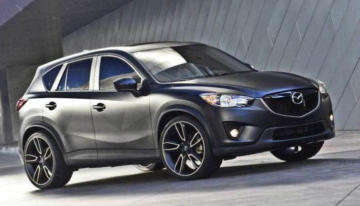 В ноябре Mazda покажет новый кроссовер CX-3