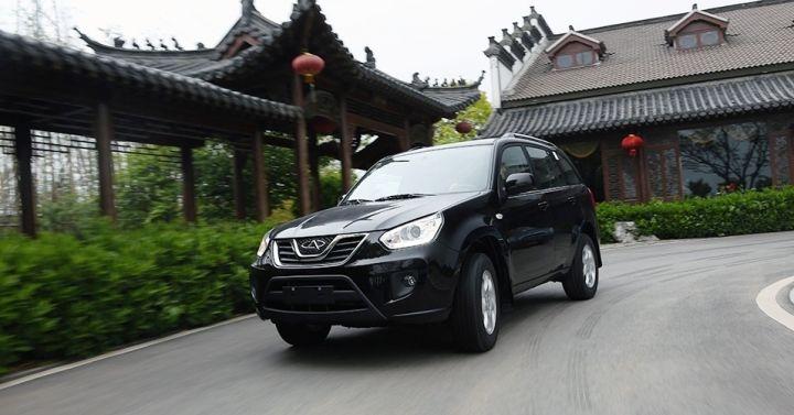 В ноябре в России продали 1 418 автомобилей Chery