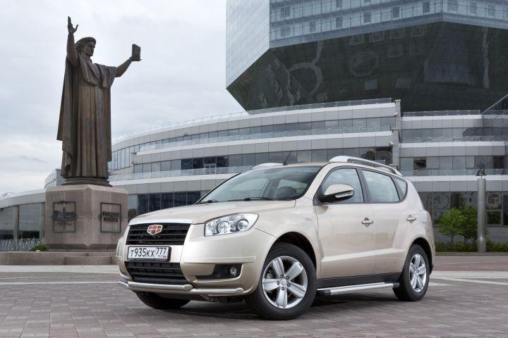 В октябре в России было продано 1376 автомобилей Geely