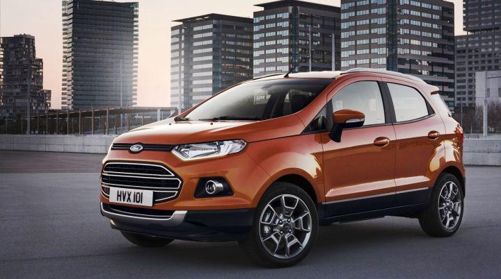 Весной из-за плохих показателей продаж модернизируют Ford Ecosport