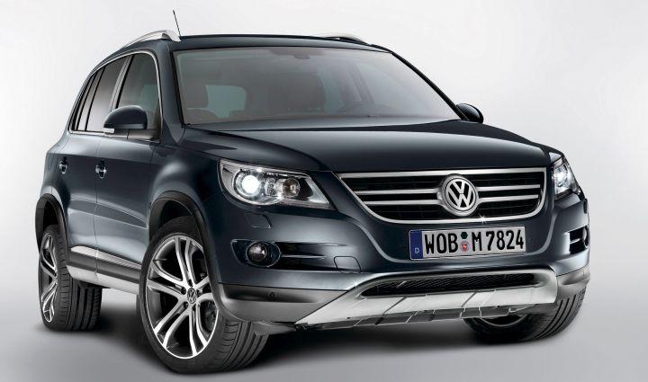Весной в России начнут продавать Volkswagen Tiguan Club